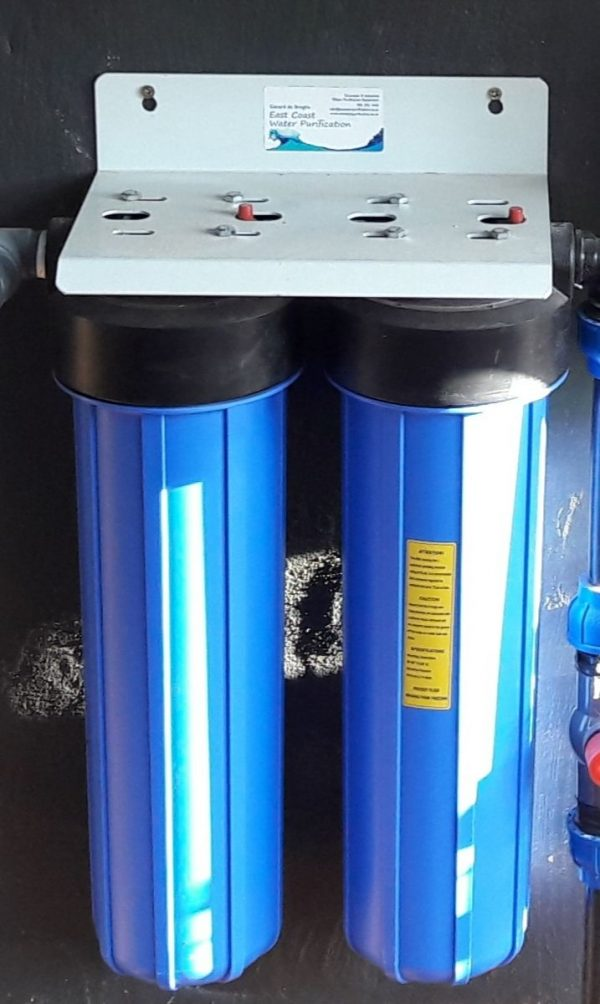 Whole House Water Filter - Cartridges Installed
